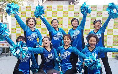 シニアチームの写真