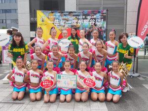 熊谷のチアダンス スクール ラポラ 写真2
